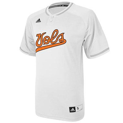 best service 32dfd 805a4 adidas Tennessee Volunteers Baseball Jersey | UT///Football ...