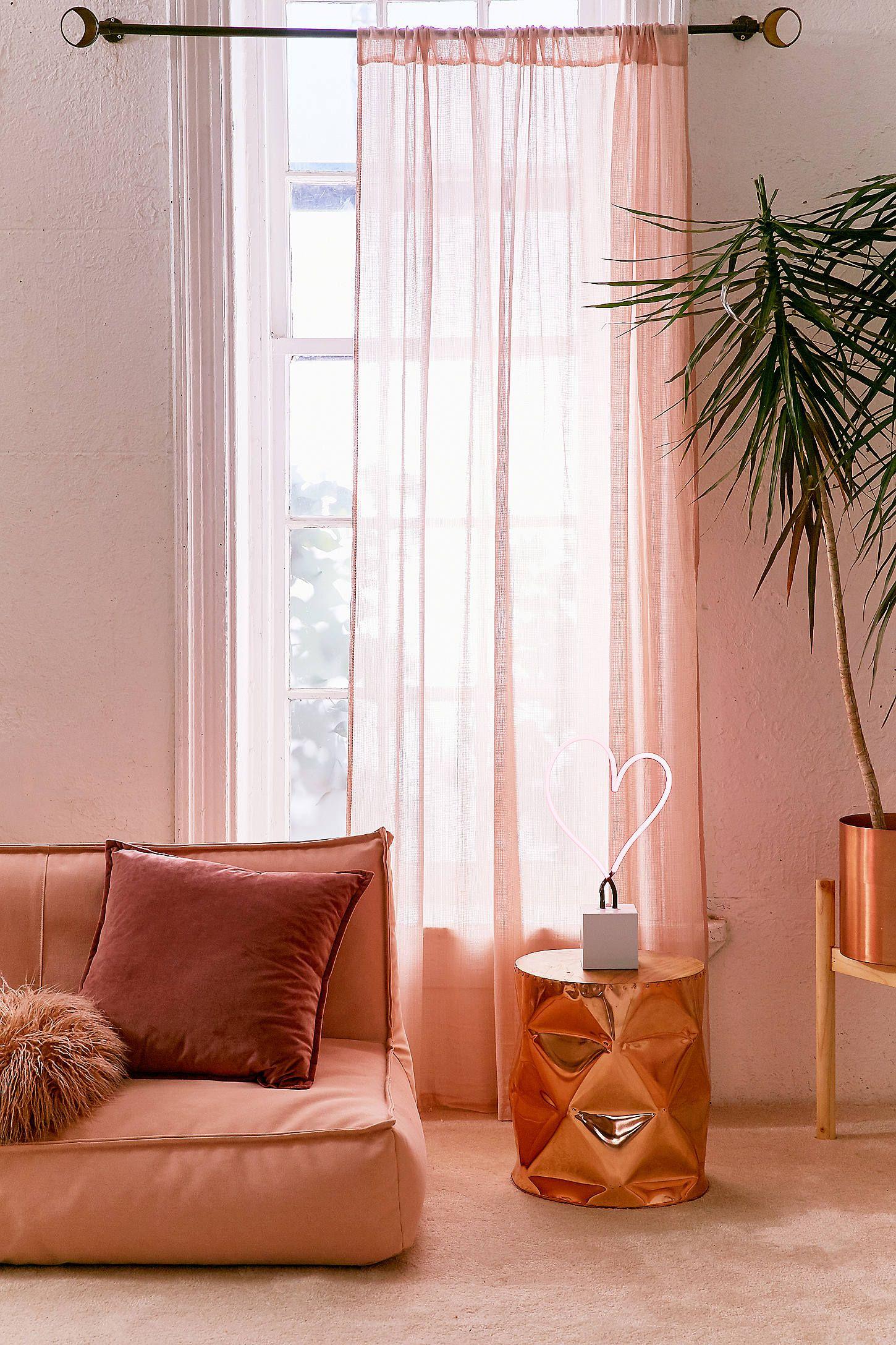 Window decor for bedroom  chloe gauze curtain  shops curtains and
