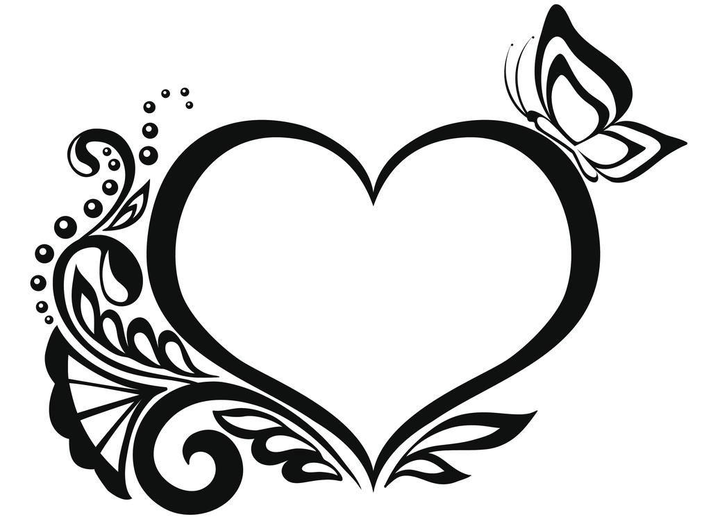 Pin De Lukas En Ornaments Ribbons Stars And Others Dibujos Tribales Tatuajes Tribales Dibujos De Corazones