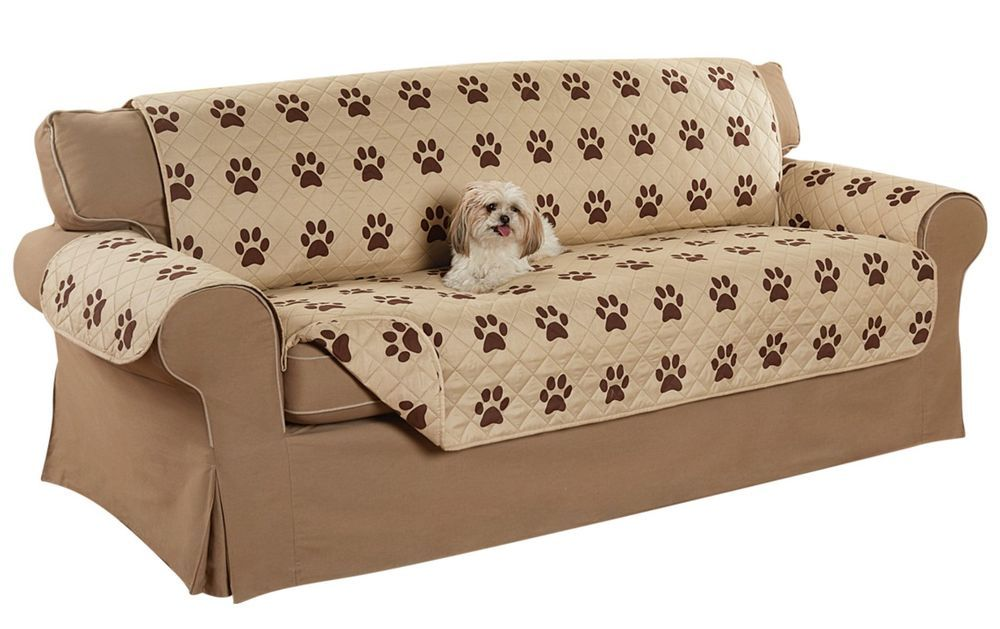 Excellent Paw Print Loveseat Cover Loveseat Couch Cover Loveseat Andrewgaddart Wooden Chair Designs For Living Room Andrewgaddartcom