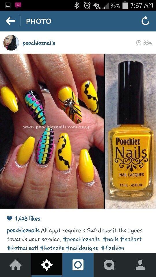 Poochiez nails