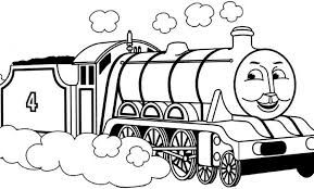 Coloring Pages Thomas the Train Tank Engine Very Easy Coloring ... | 174x289