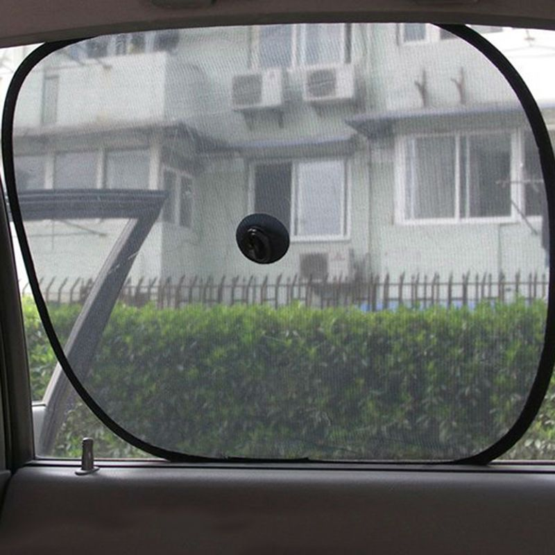 2017 2pcs new twin car window sun shade vehicle truck baby pet dog kids shade visor