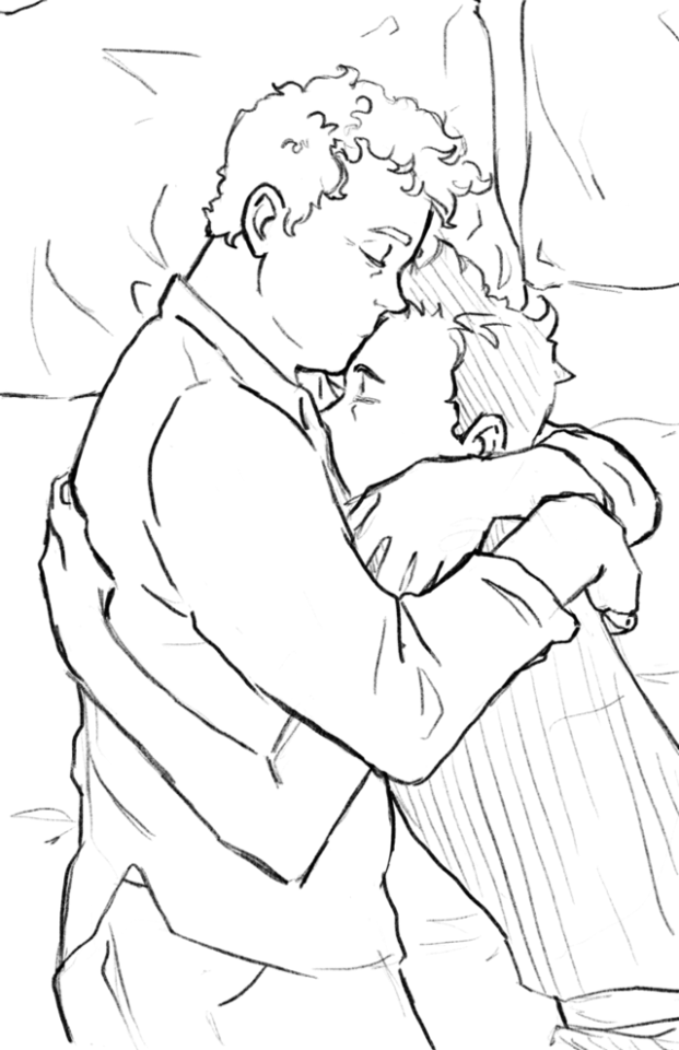 ineffable husbands art | Tumblr | Good Omens in 2019 | Art