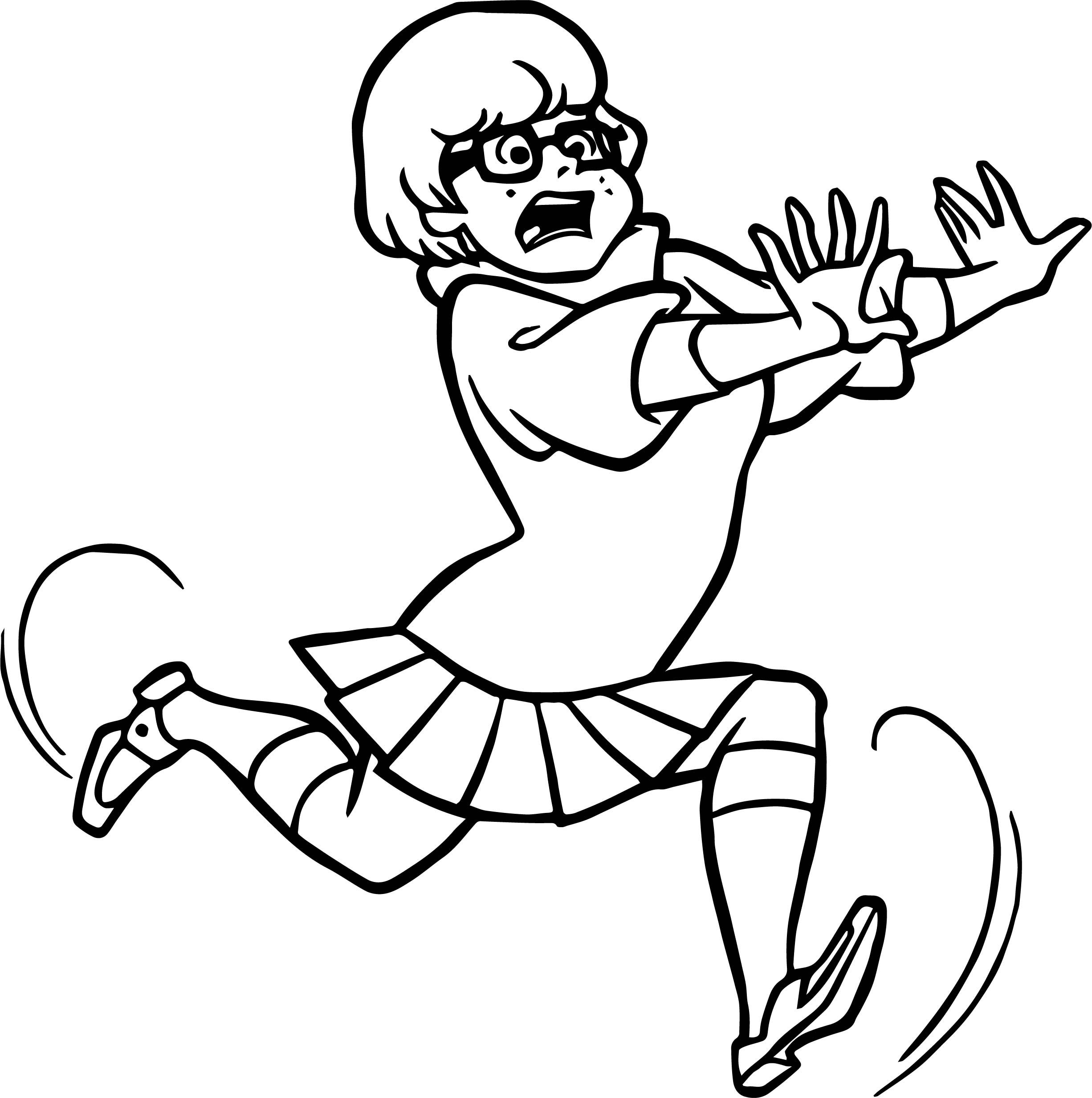 cool Anime Girl Running Coloring Page | wecoloringpage | Pinterest