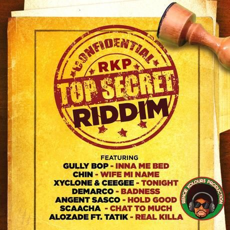 (#DancehallRiddim) Top Secret Riddim 2015 (Rencie Kolours Production) -| http://reggaeworldcrew.net/dancehallriddim-top-secret-riddim-2015-rencie-kolours-production/