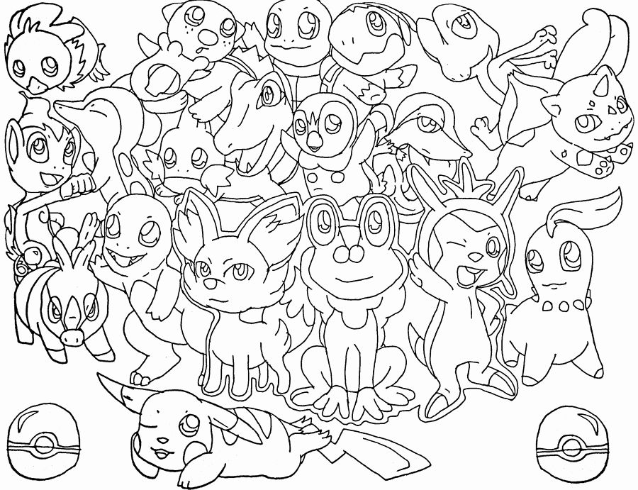 Pokemon Coloring Pges