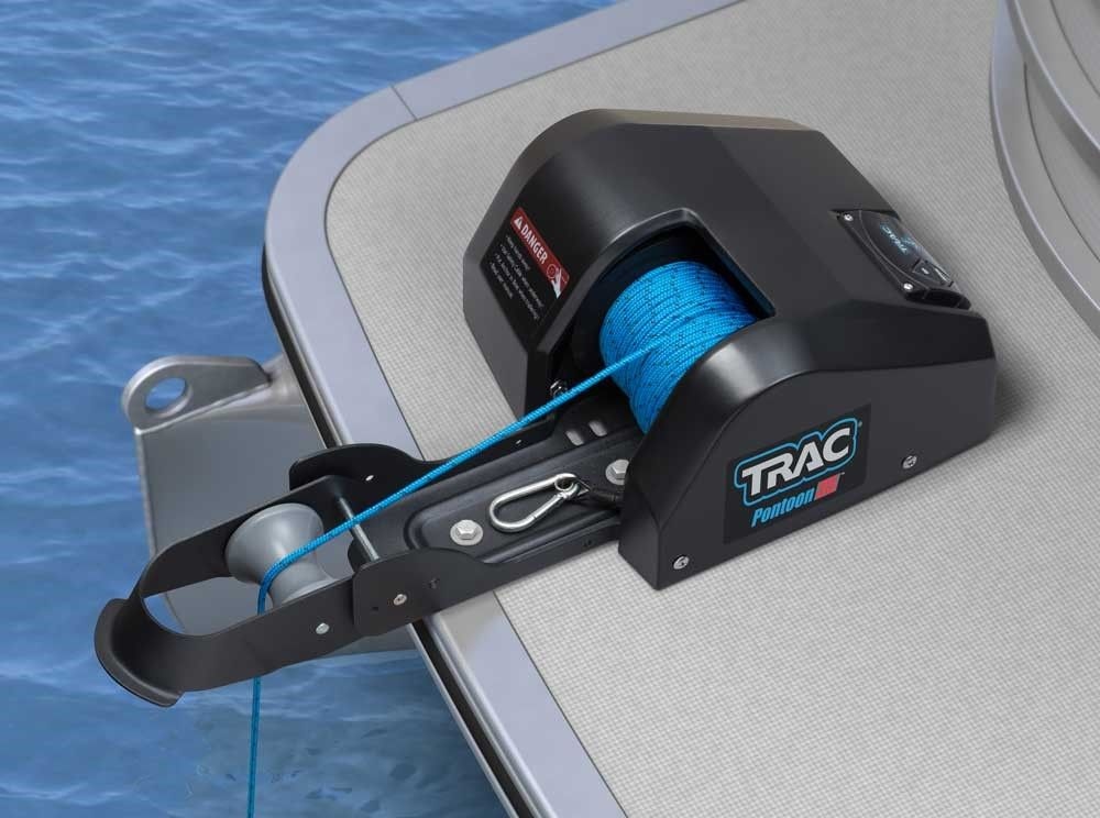 TRAC T10109-G3 Pontoon 35 Electric Anchor Winch | Boating