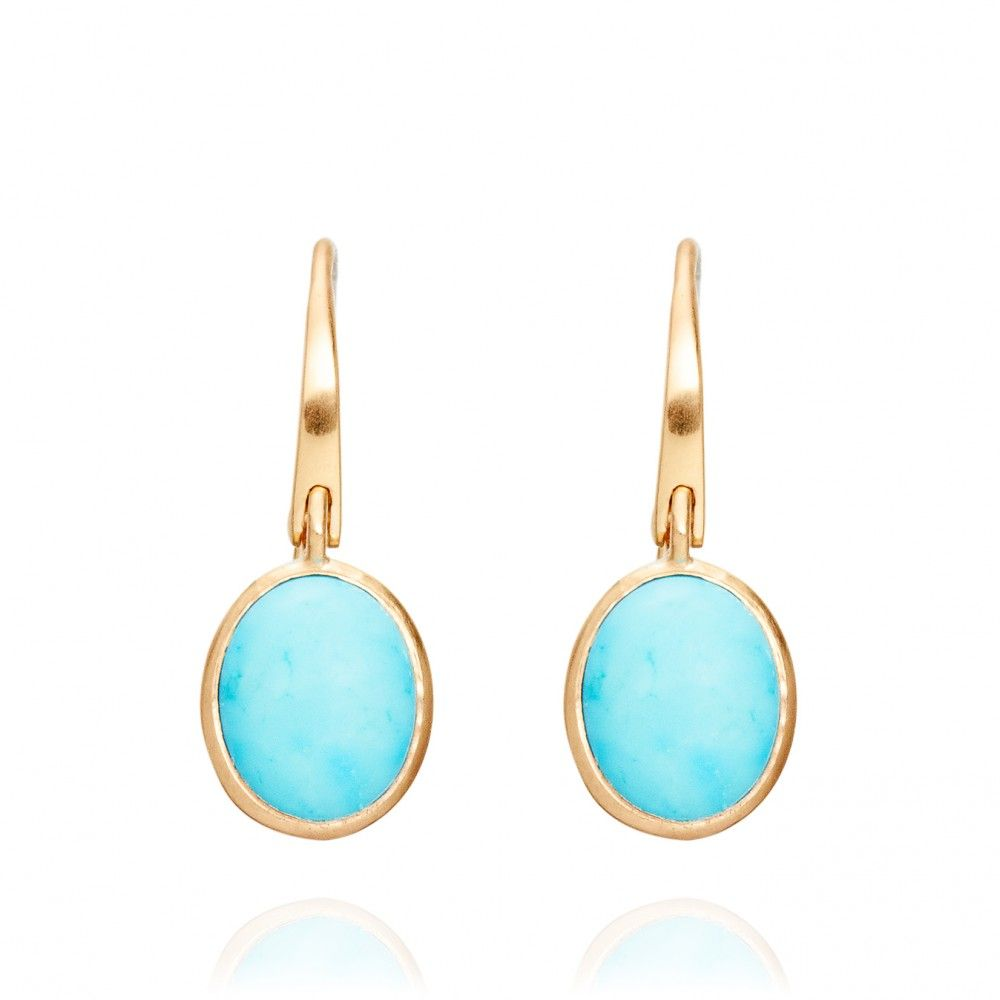 Cadenza Turquoise earrings by Astley Clarke Colour | AstleyClarke.com