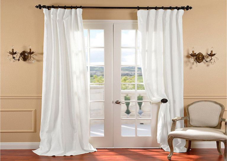 French Door Curtains Nyc Custom French Pleated Drapery Linen Curtain Panels Linen Curtains White Linen Curtains