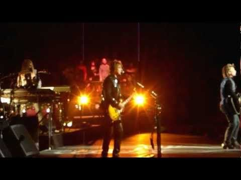 Bon Jovi - Because We Can Live  Me and Yvette in San Antonio and Austin the Pit and backstage passes.  One of the best times eveeeeerrrr!  2012 & 2013