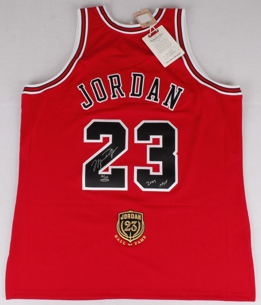 Michael Jordan Signed Limited Edition Authentic Mitchell