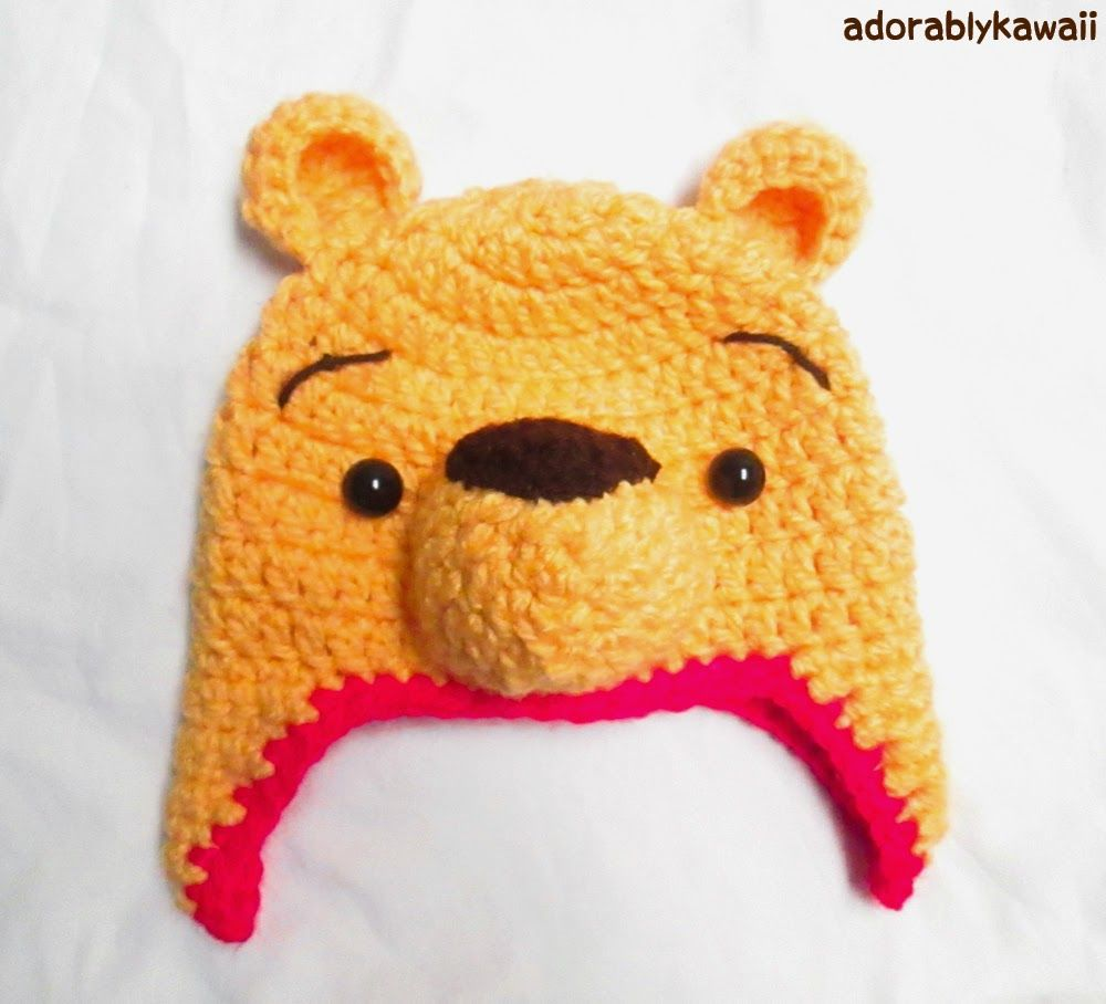 Winnie the Pooh Crochet Hat Pattern for Toddler (+ sizing guide ...