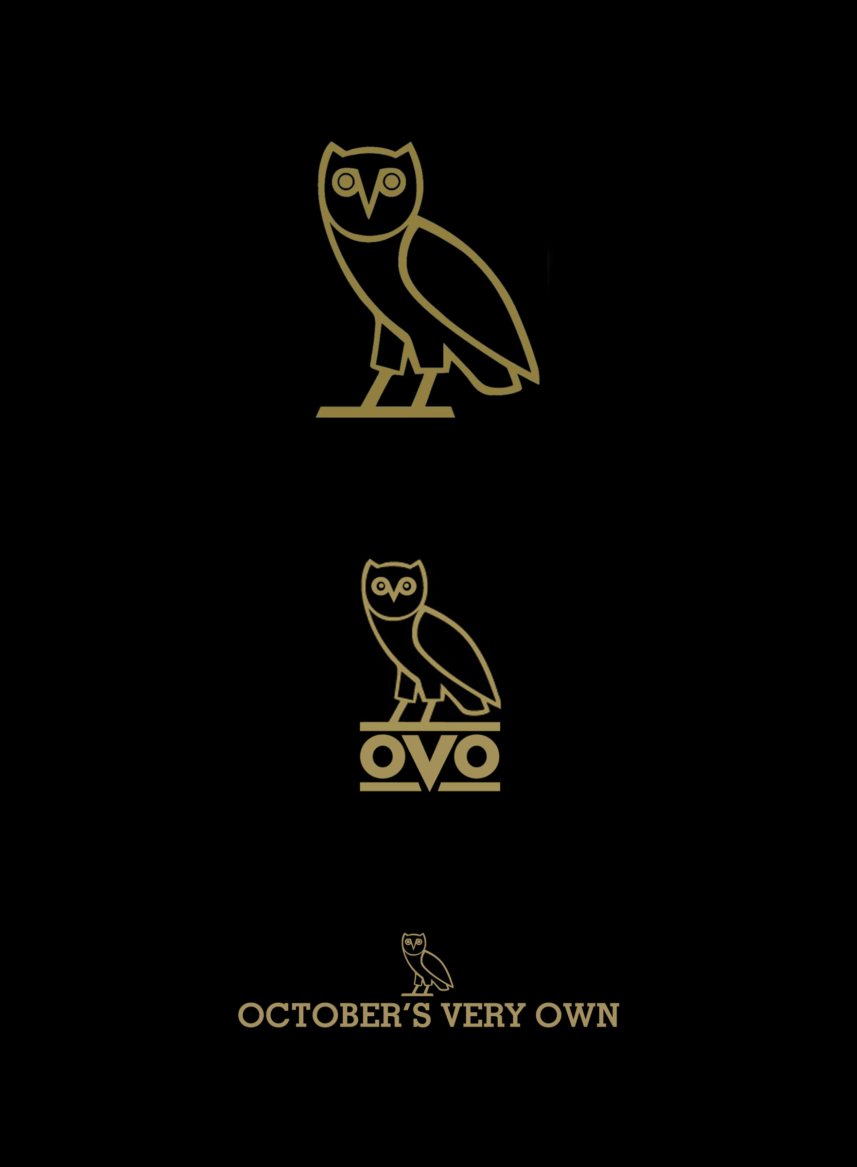 ovo logo and wordmark for drakes made in canada clothing
