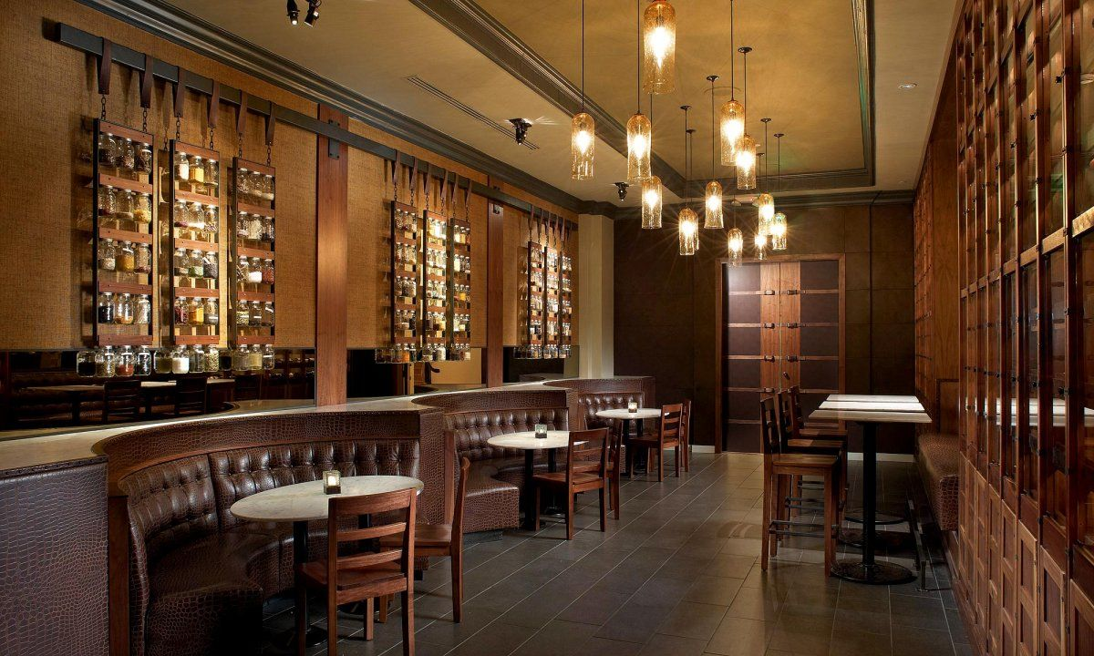 Best restaurant design private dining hall at