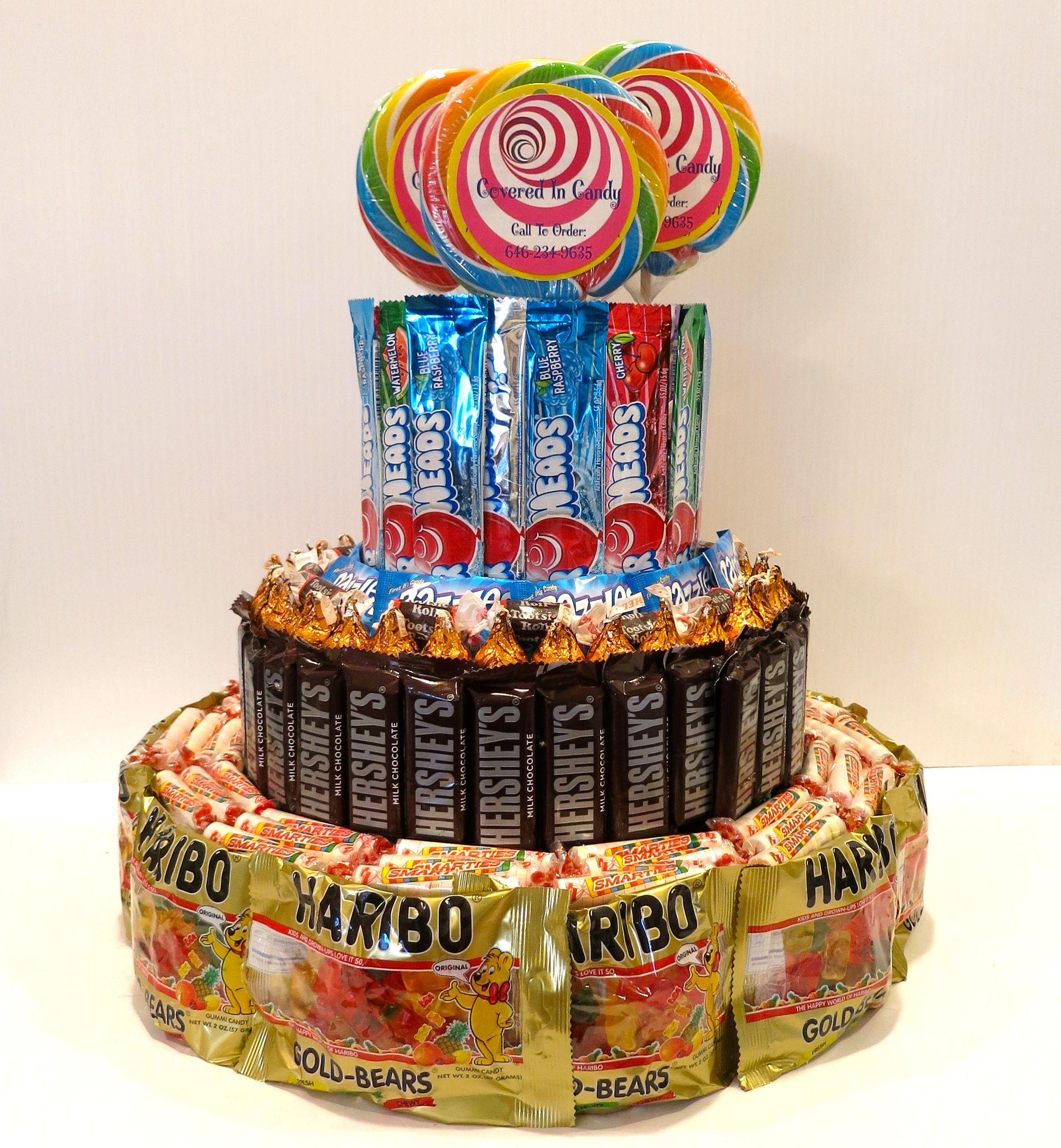 Happy Birthday Candy Cake!