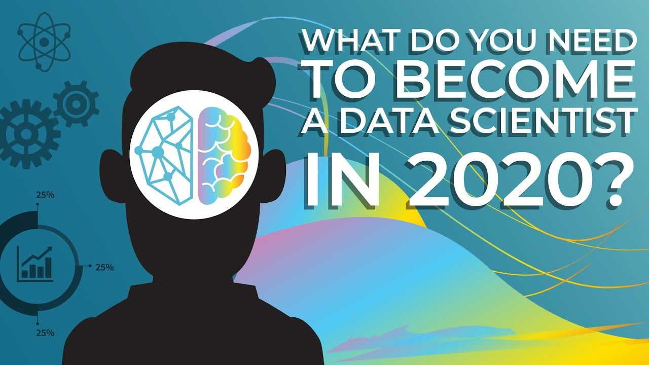 What Do You Need To Become A Data Scientist In 2020 In 2020 Data Scientist Data Science Online Science