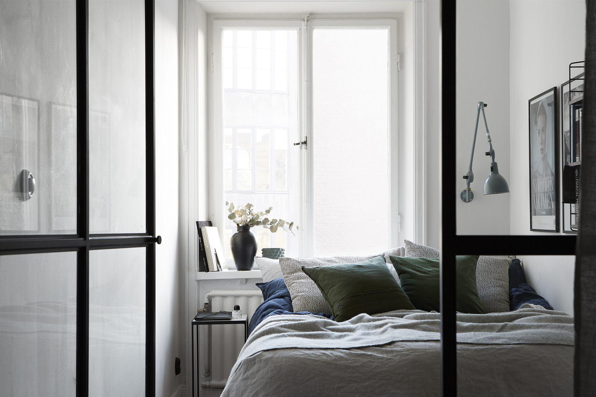 Innenarchitektur wohnzimmer grundrisse bedroom behind a glass partition  interiors  pinterest