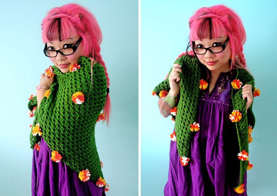 Free Crochet Pattern At Michaels Marigold Triangle Shawl