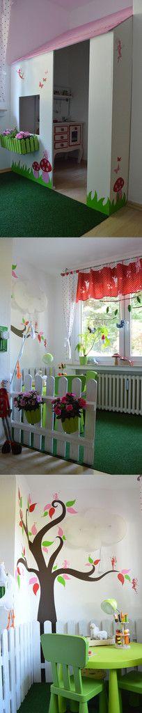 Tintenelfes blog kinderzimmer gestalten mit konzept elfen r ubertochter 39 s h hle - Kinderbett gestalten ...