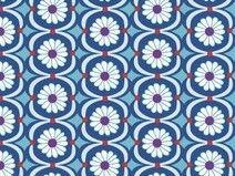 Betty Butter -  Jerseystoff by jolijou - blau