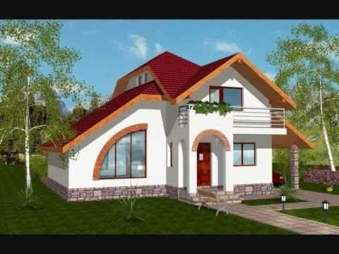Proiect casa stela proiecte case cu mansarda for Youtube case cu mansarda