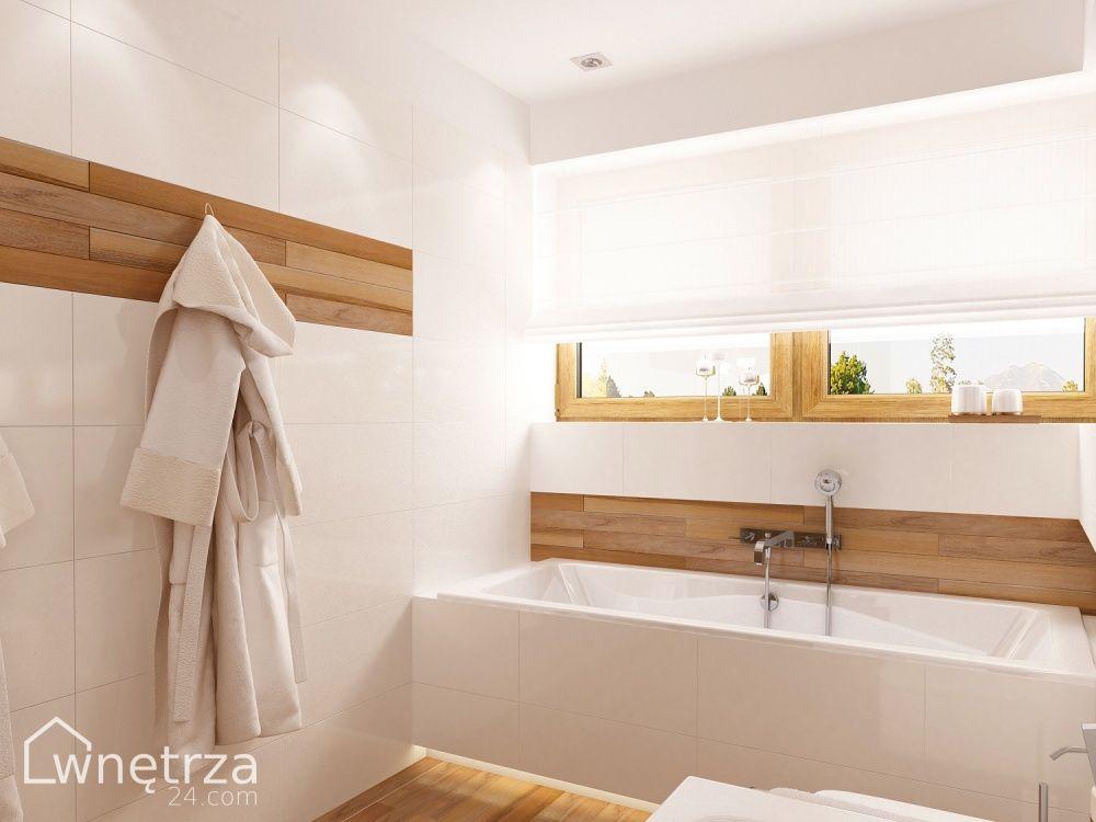 Biała łazienka Z Drewnem Lazienka W 2019 łazienka I