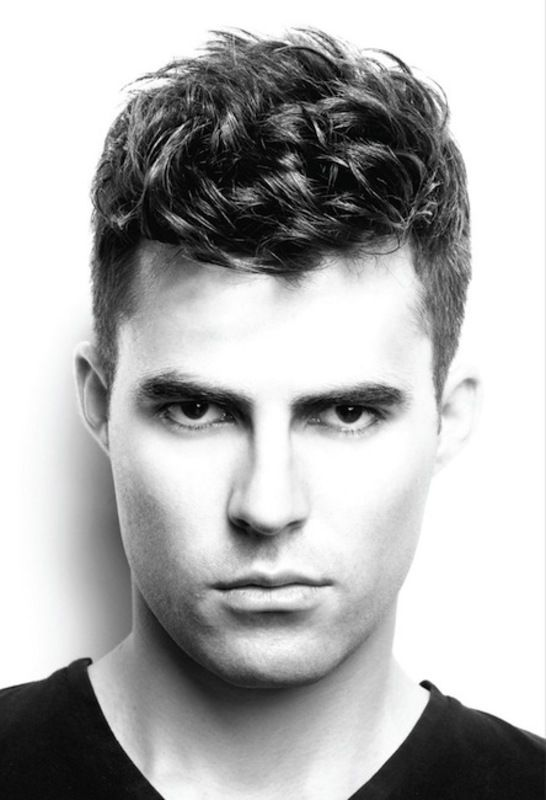 mens hairstyles fashion trends 2012 2013 cool ha   Me, myself and ...