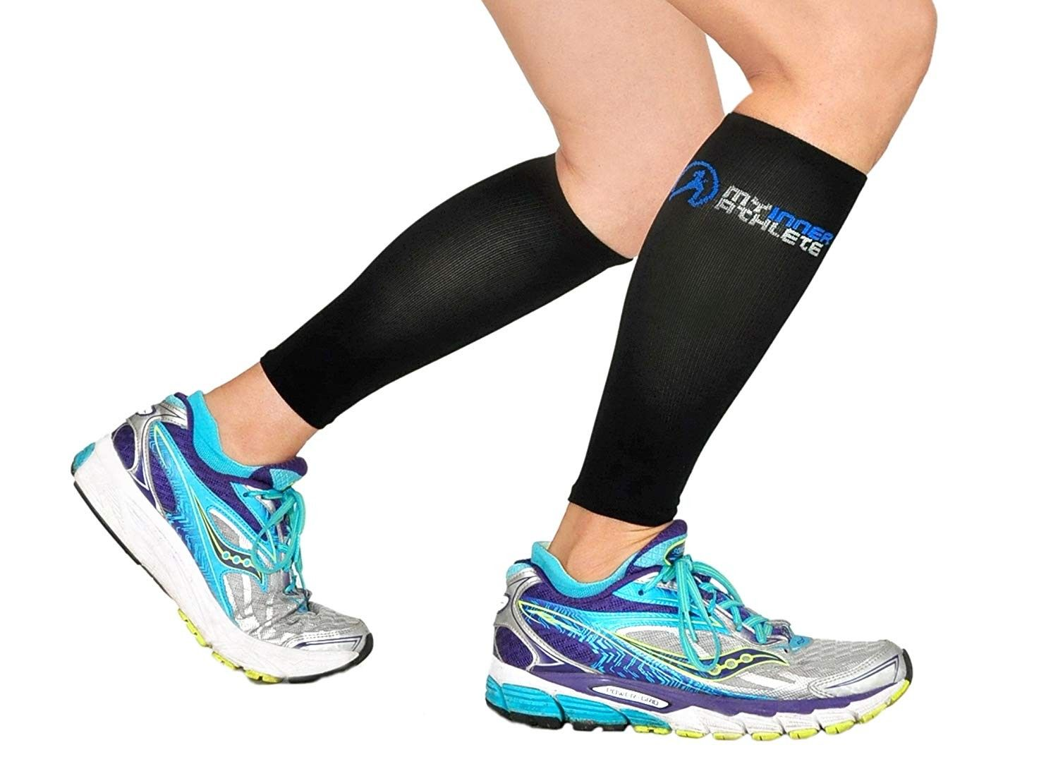 Compression Sleeves Graduated Designed Physician - Black - CT128HJOQTN - Sports & Fitness Clothing,...