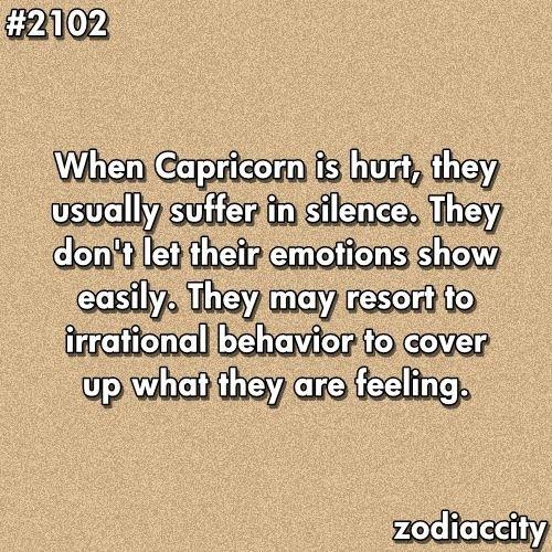 That irrational behavior ugh   Goat People: Capricorn Life