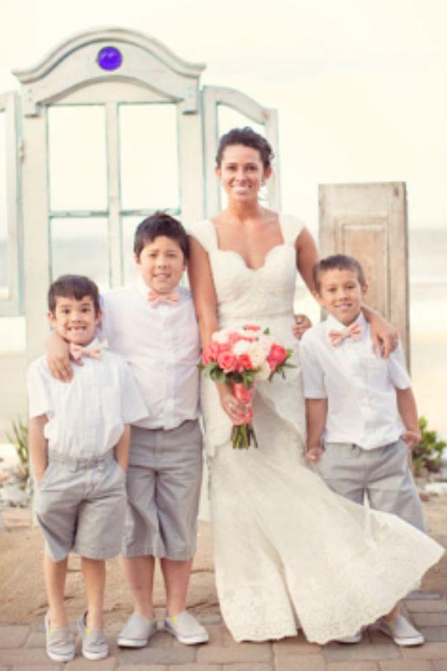 Beach Wedding Ring Bearers Caleb And Mercedes Wedding 05 24 2013