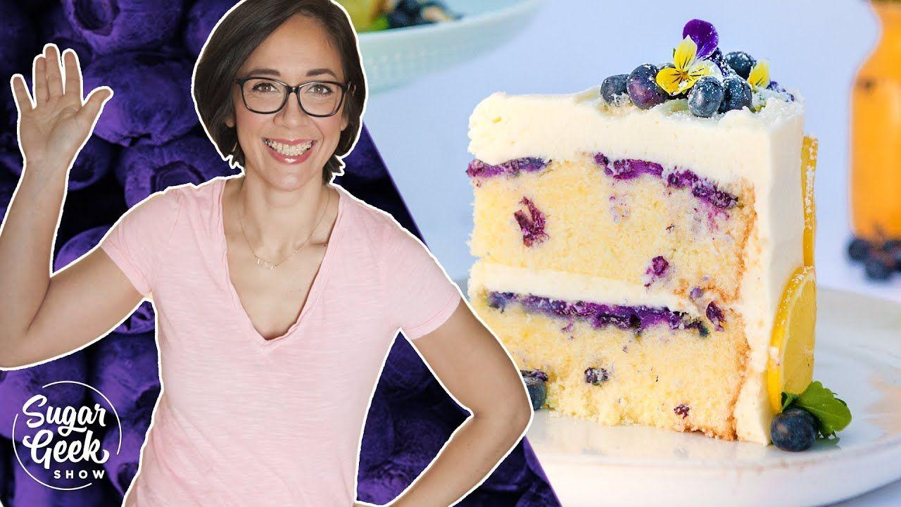 Lemon Blueberry Buttermilk Cake Youtube Savoury Cake Lemon Blueberry Blueberry Cake