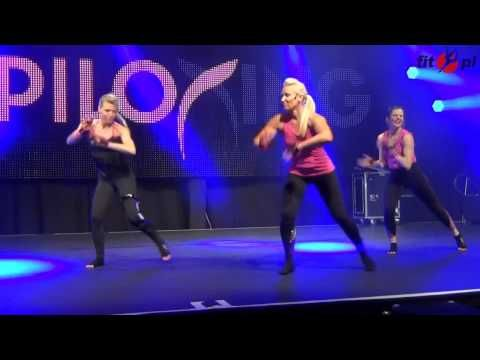 Piloxing - FIBO 2013 Holy Moly high intensity dance, pilates,+ boxing