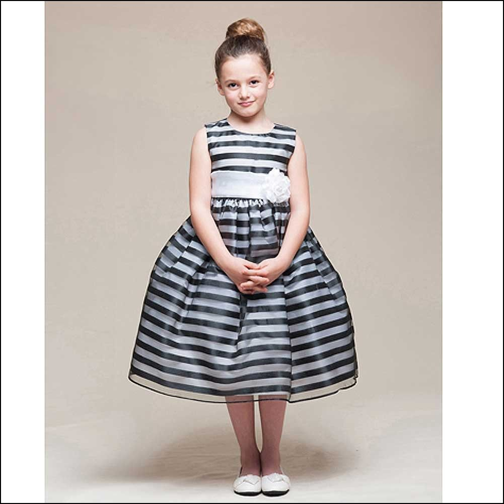 Black and White Little Girl Dresses | Dresses and Gowns Ideas ...