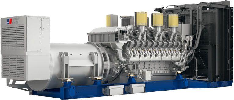 Дизельная электростанция MTU 20V4000 DS2650 | Generator sets