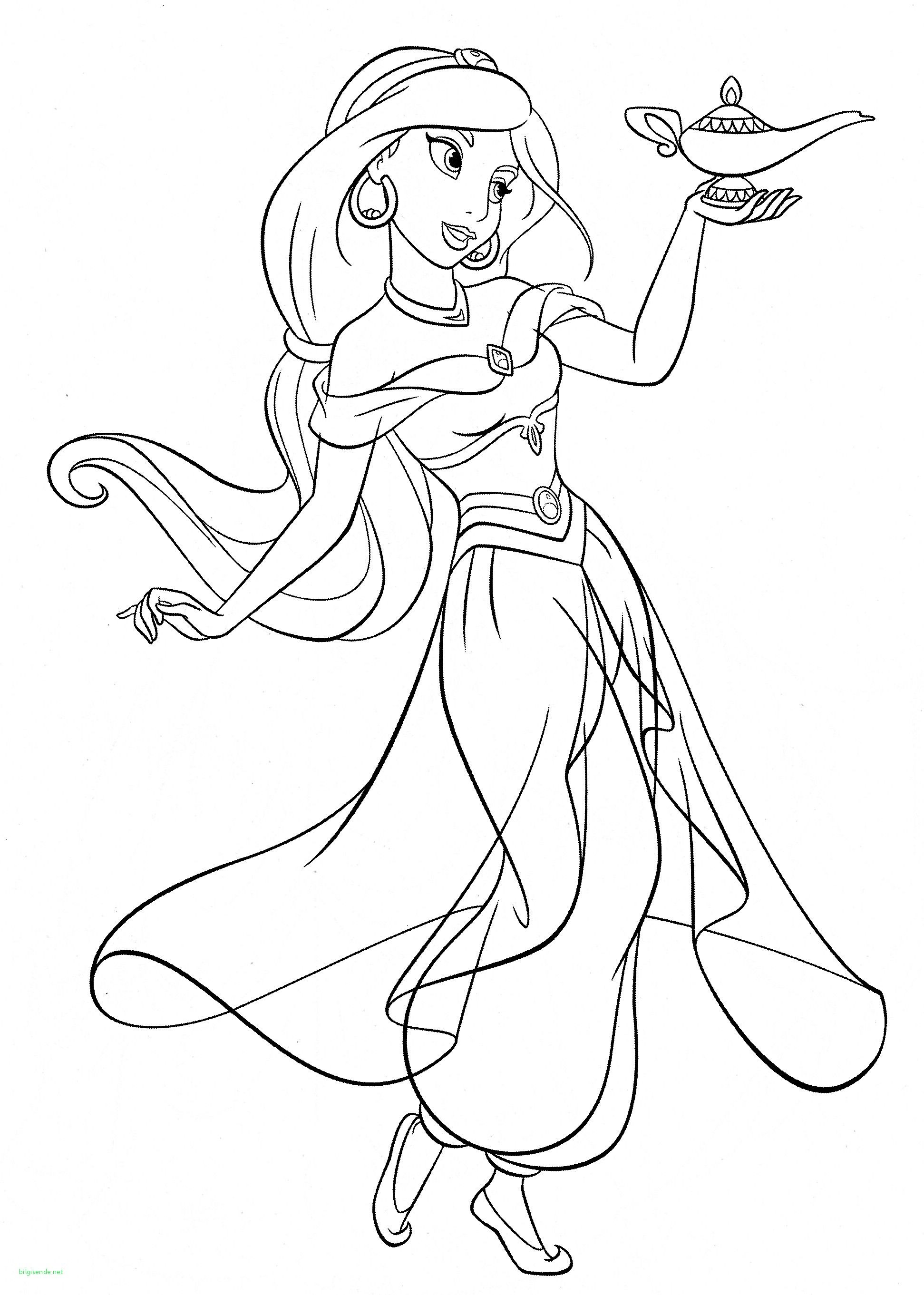 Disney Princess Coloring Pages Jasmine (With Images) Disney