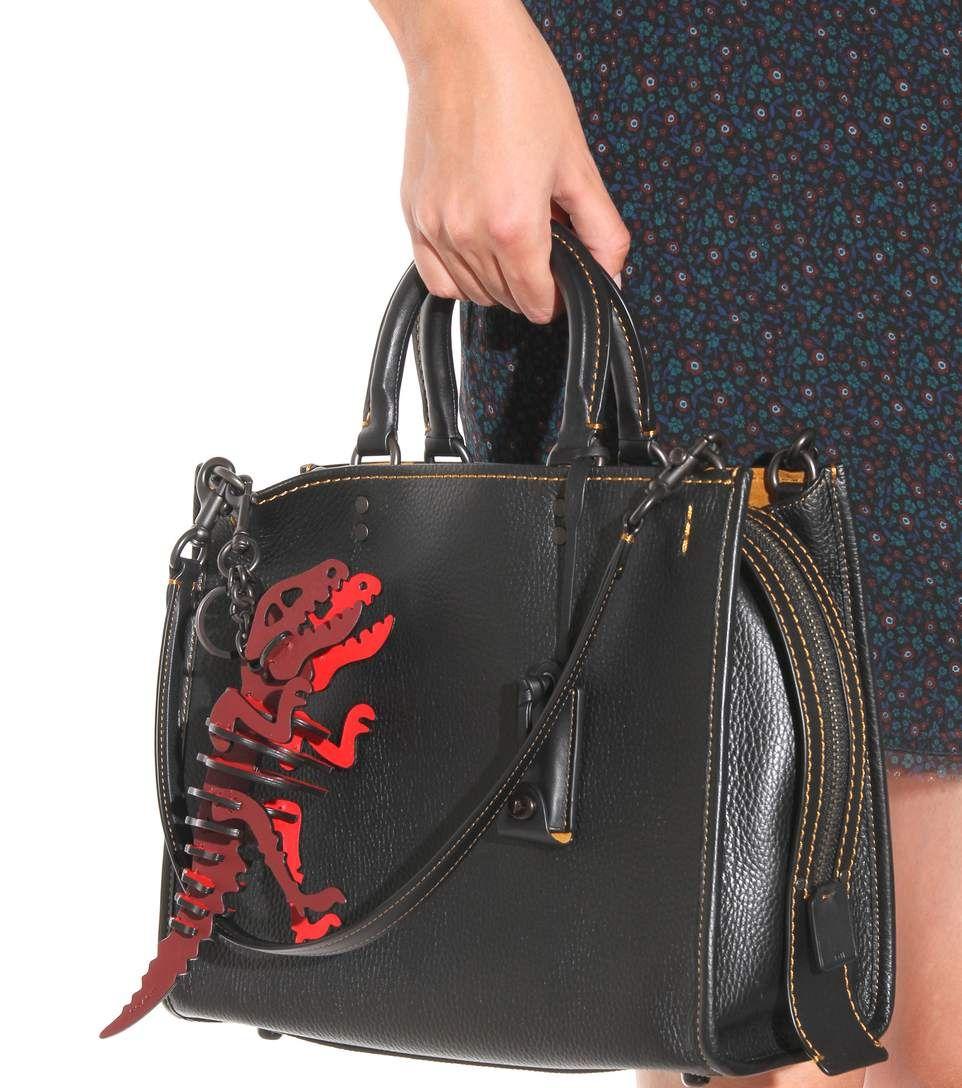 f9f5a68bfc mytheresa.com - Dinosaur leather keychain - Luxury Fashion for Women    Designer clothing