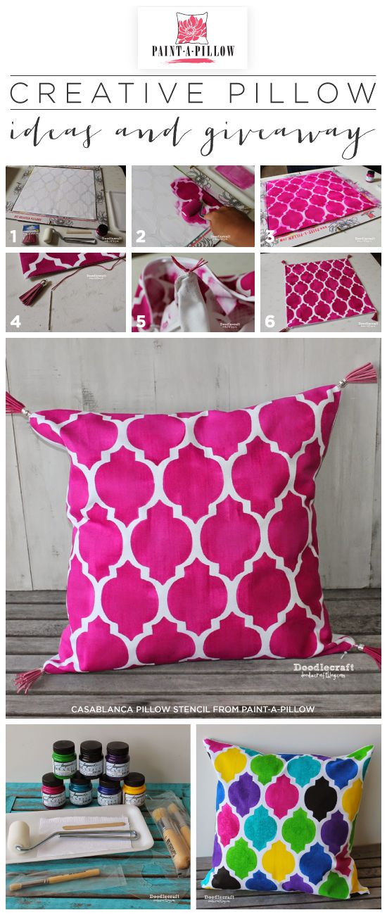 Creative Pillow Ideas And Giveaway With Images Creative