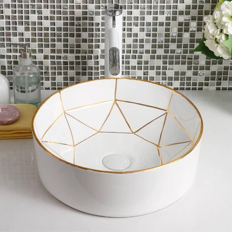 Pin On Bath Room New top ceramic bathroom size