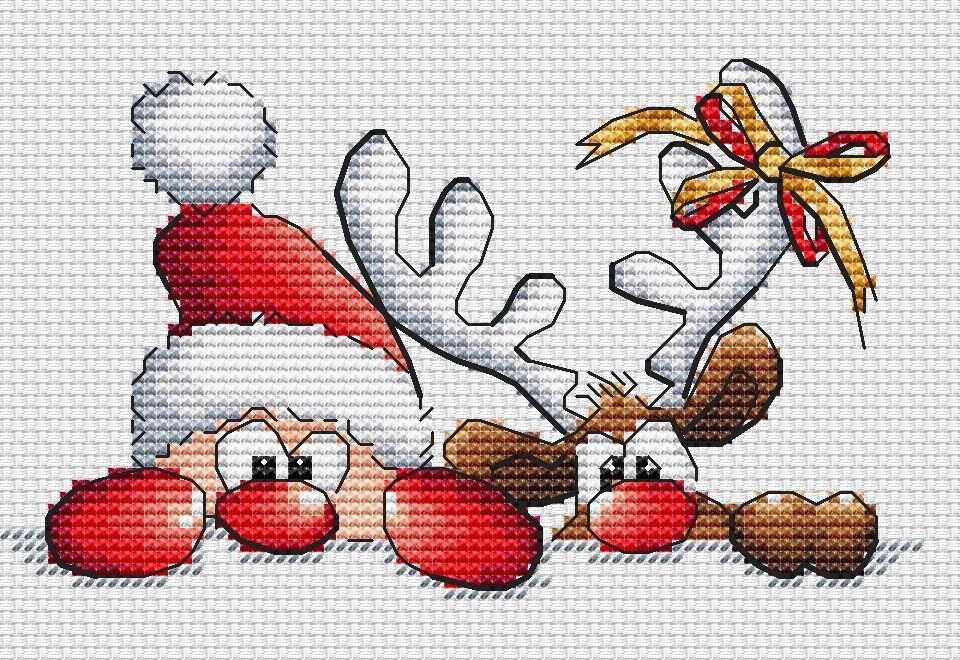 Новости | CROSS STITCH | Pinterest | Punto de cruz, Puntos y Navidad