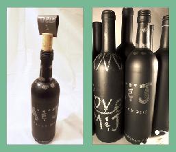 DIY Wine Bottle Wedding Centerpieces - Reset Your Crown