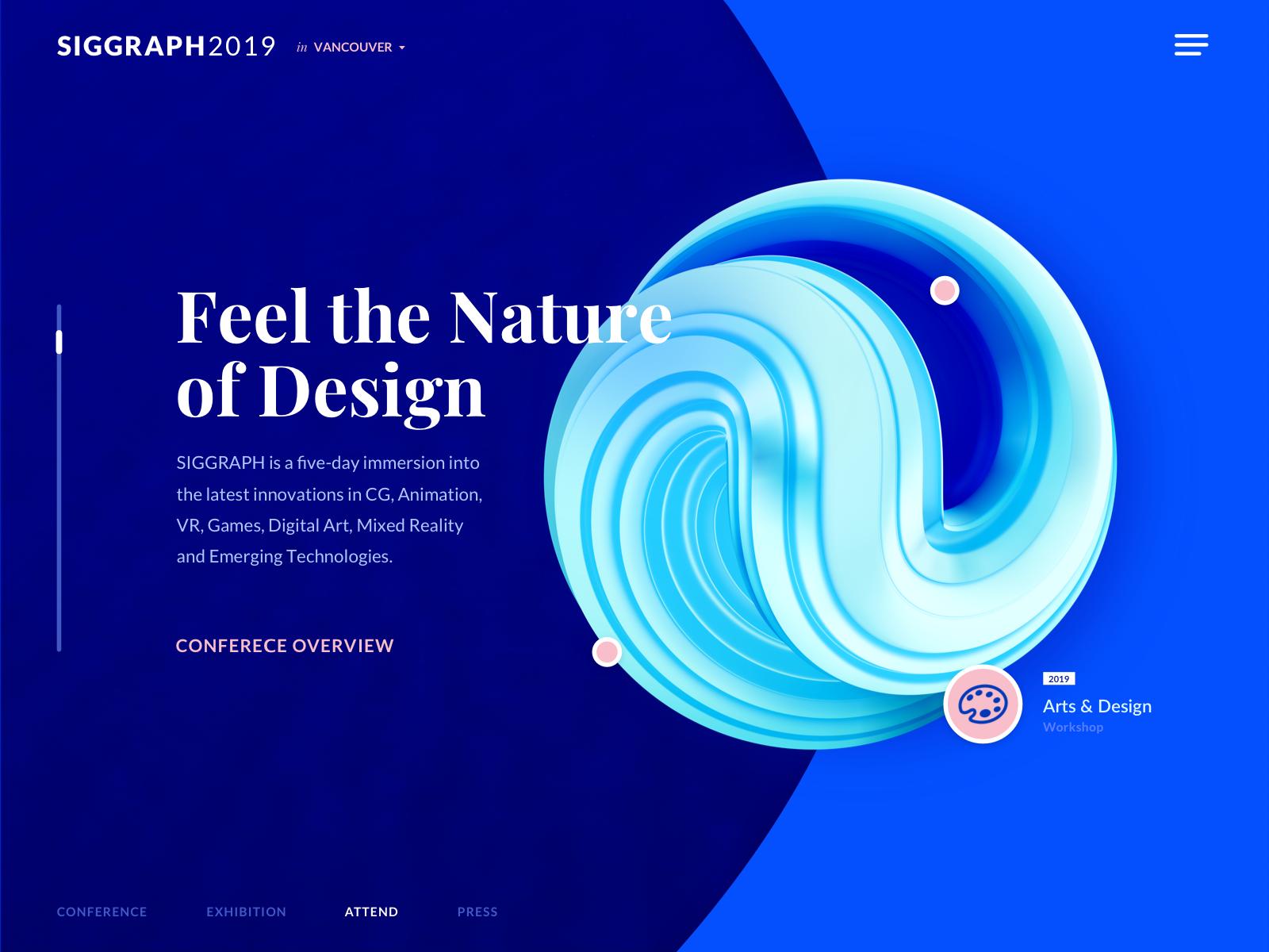 Computer Graphics Conference Website Design Experiment Graphics Experiment Conference Website Graphic Design Trends Modern Graphic Design Trends Website Design