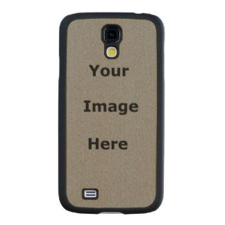 Make Your Own Samsung Galaxy S4 Case Carved® Maple Galaxy S4 Case #SamsungGalaxyS4 #SamsungGalaxy #GalaxyS4