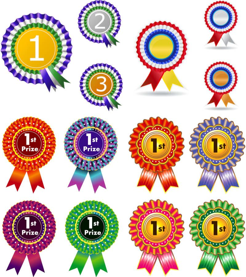 1st Prize Badges Vector Badge Template Free Vector Graphics Vector Free