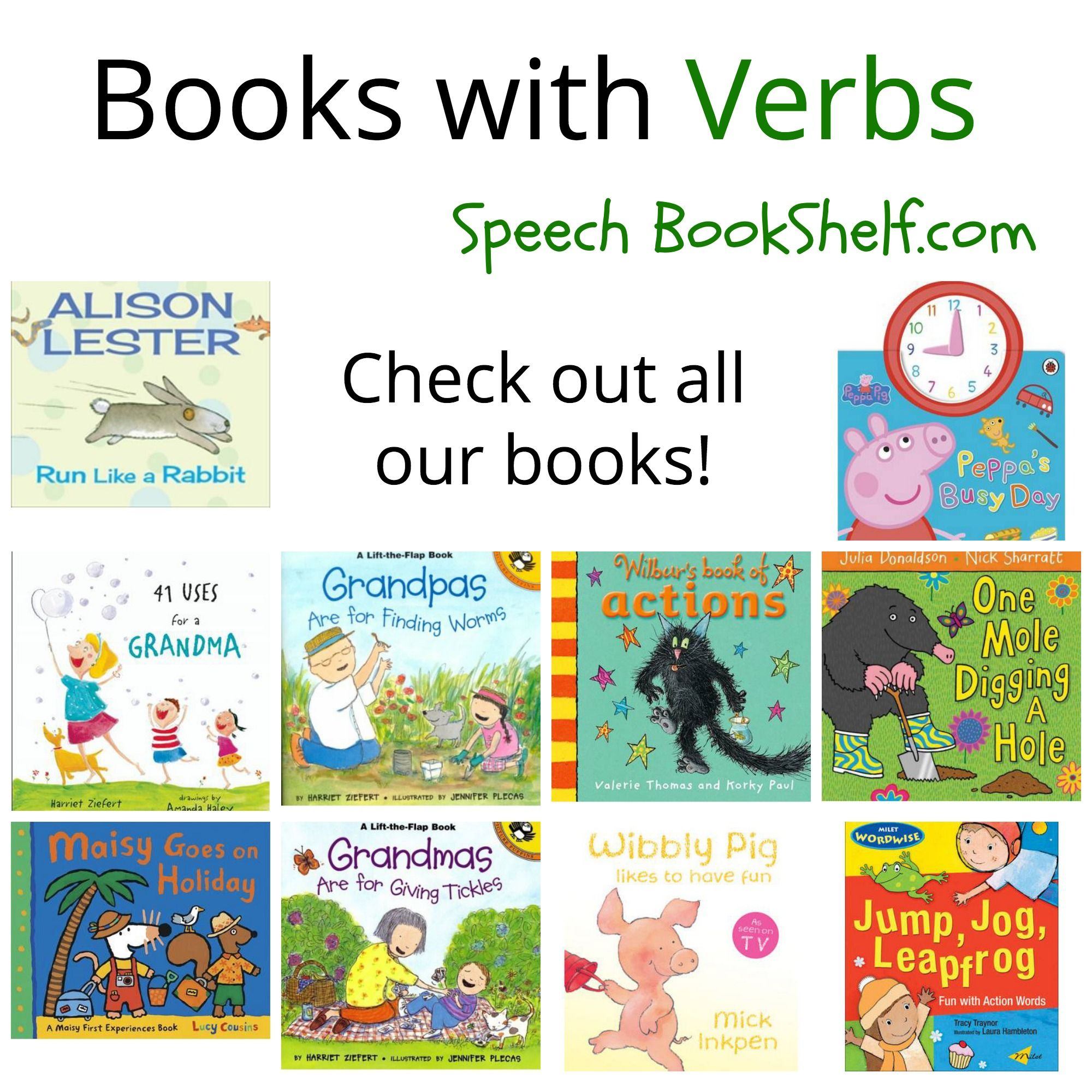 Books With Verbs For Preschoolers Pinned By Sos Inc