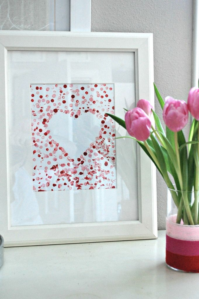 Easy Valentine S Day Art For Toddlers Valentines Pinterest