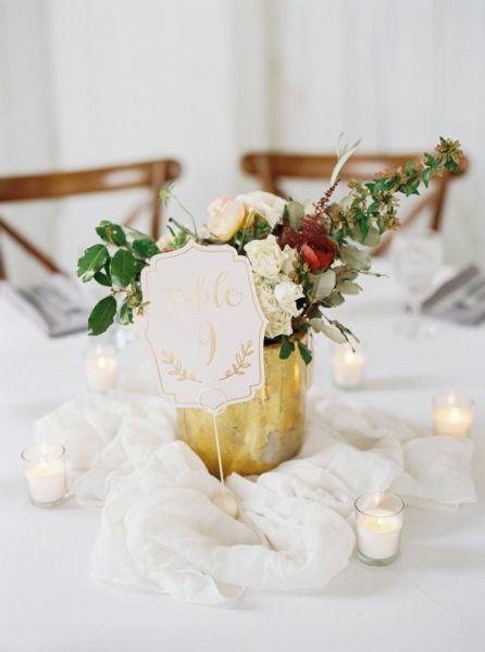 Un mariage en doré : oserez-vous le glamour absolu en 2017 ? Image: 20