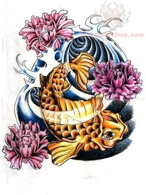 Tattoo sleeves of oriental koi and lilies in water google search koi fish and peony flowers tattoo mightylinksfo Choice Image
