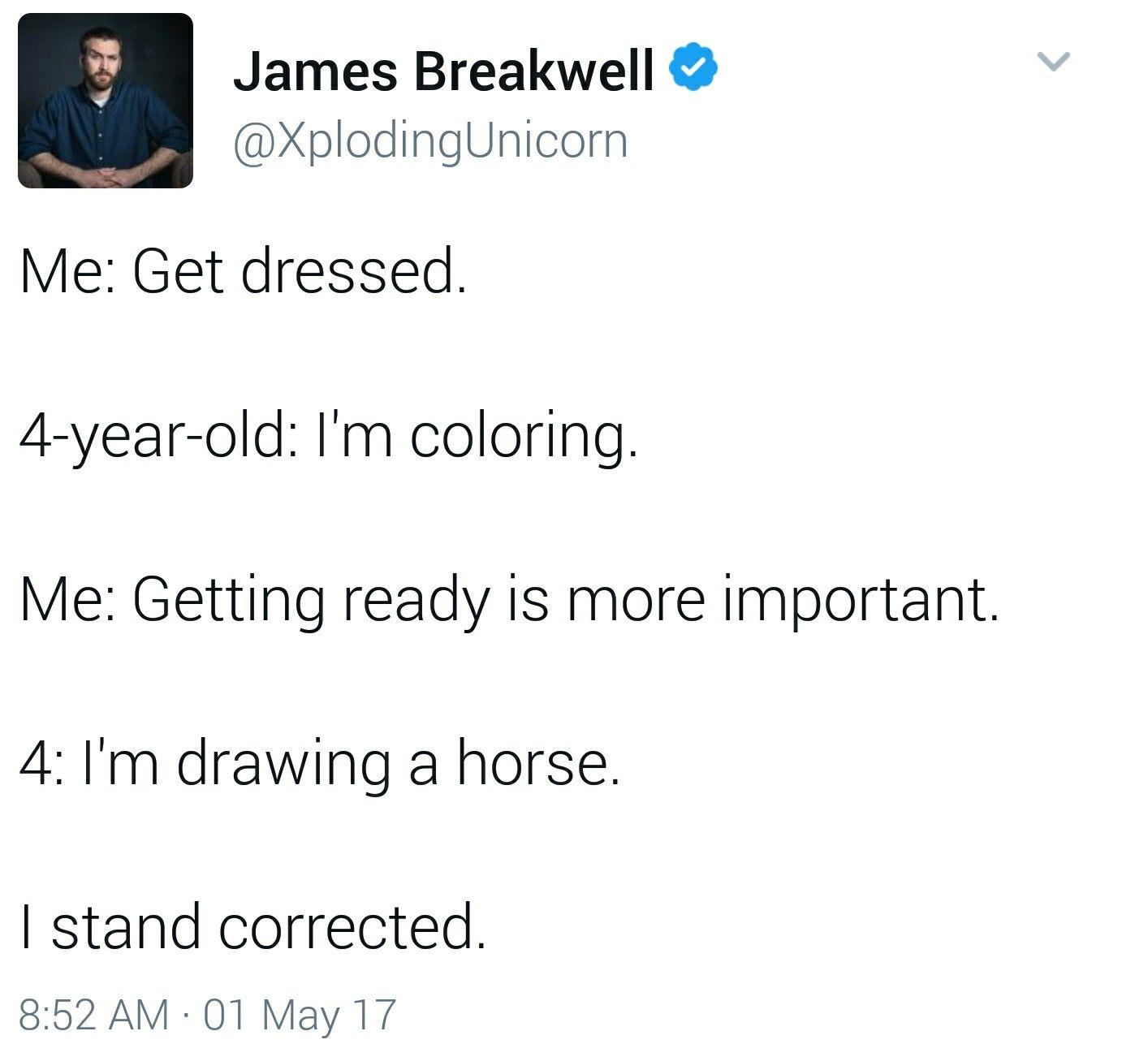 I Stand Corrected Kid MemesFunny