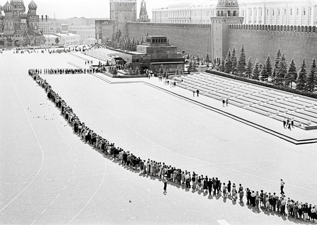 """""""To Lenin"""" series, Moscow, 1966 by Victor Akhlomov"""